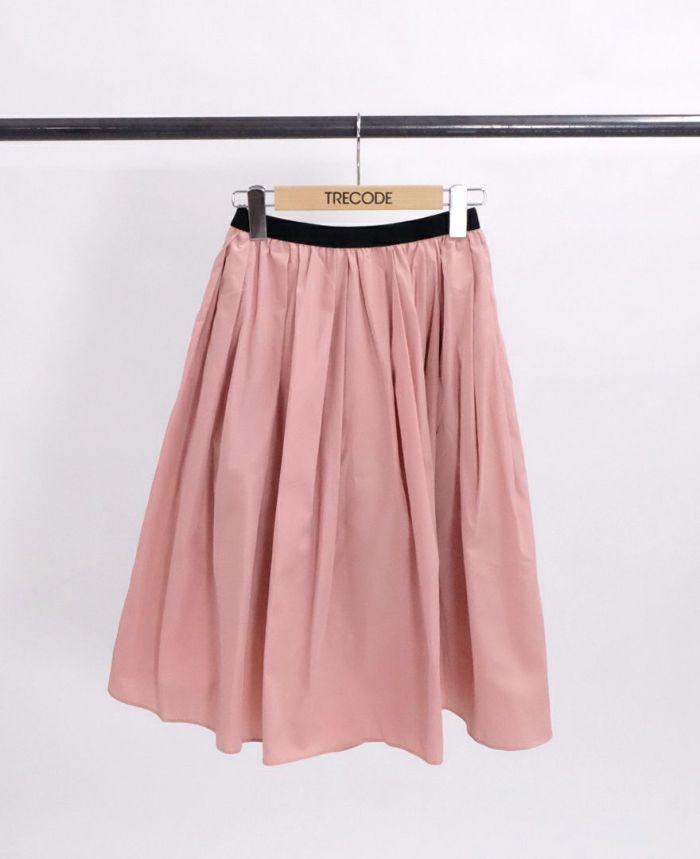 神戸・山の手スカート ロング アーモンド