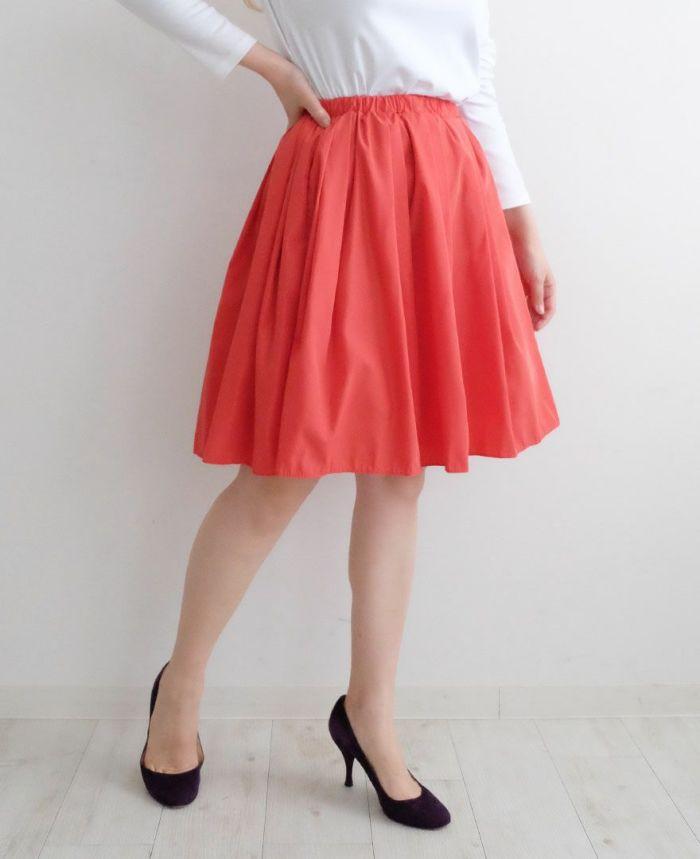 神戸・山の手スカートミドル