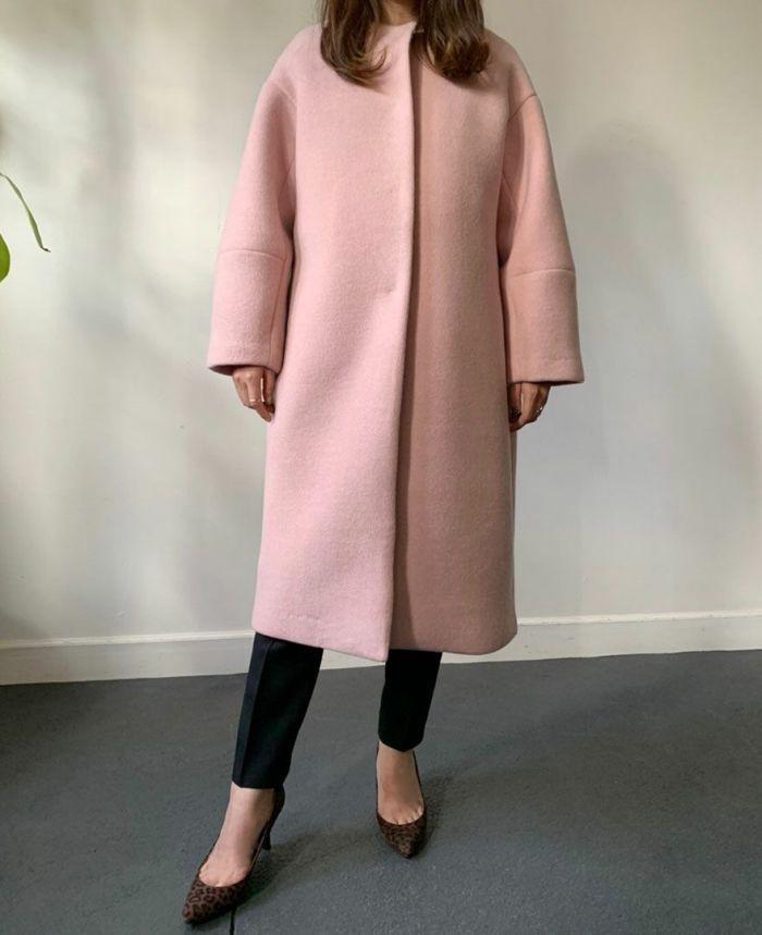 ピンク着用154cm