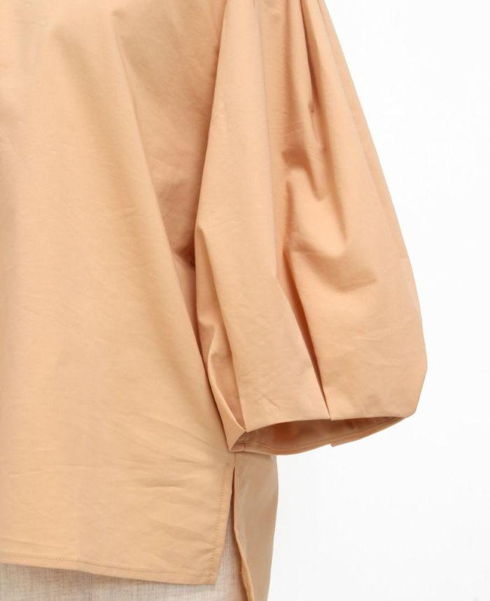 バックリボンブラウス 袖