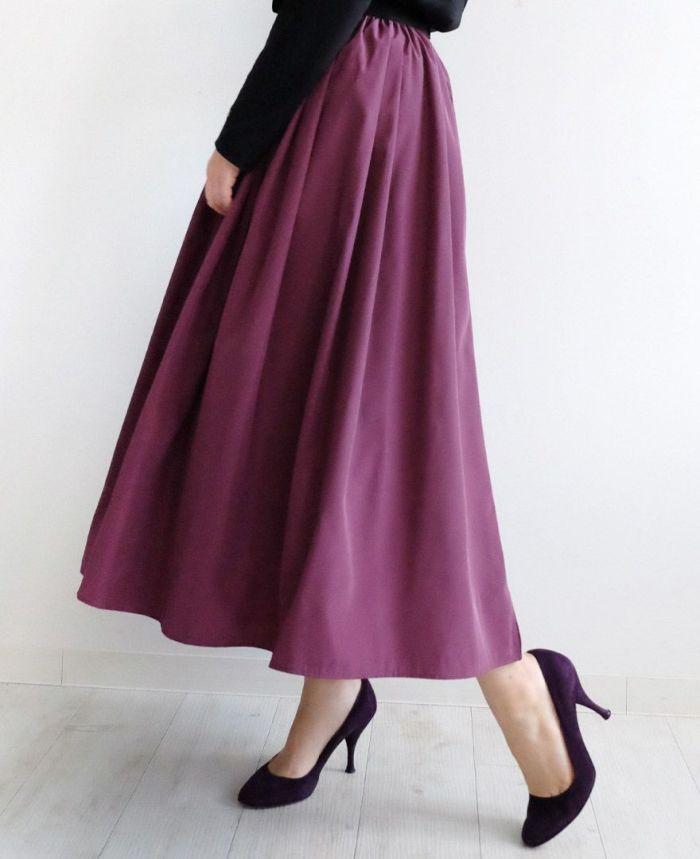 神戸・山の手スカート マキシ丈を使ったきれいめコーデ