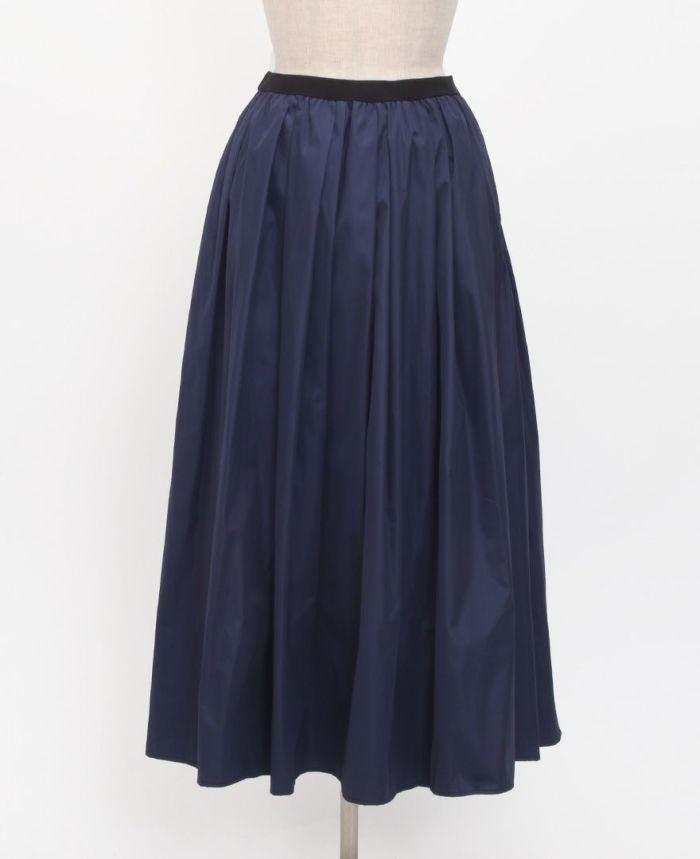 神戸・山の手スカート マキシ丈 フロント