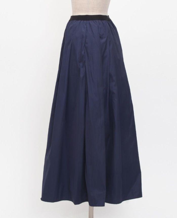 神戸・山の手スカート マキシ丈 サイド