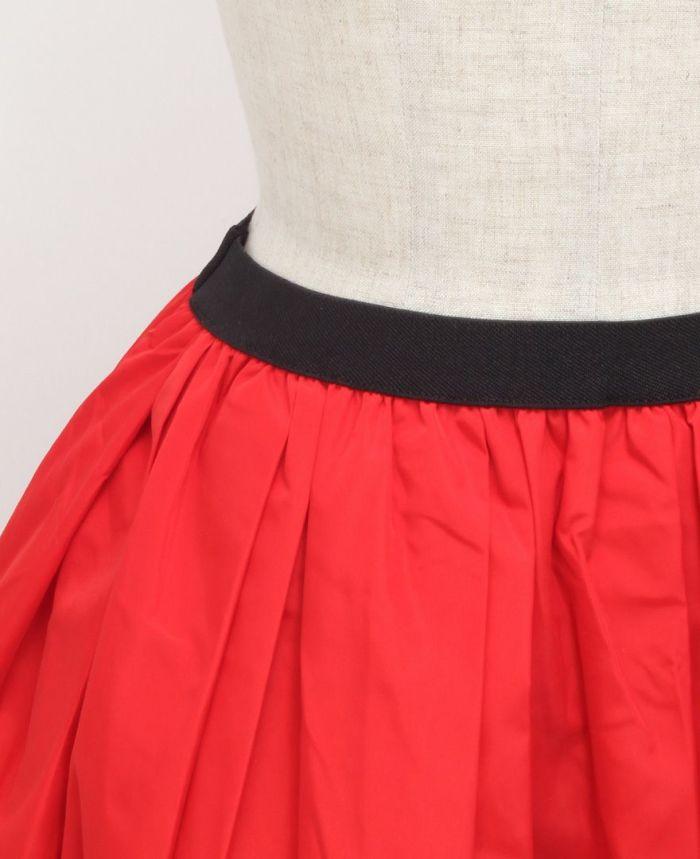 神戸・山の手 だんだんエシカルスカート ミモレ丈 ウエストゴム 楽ちんスカート