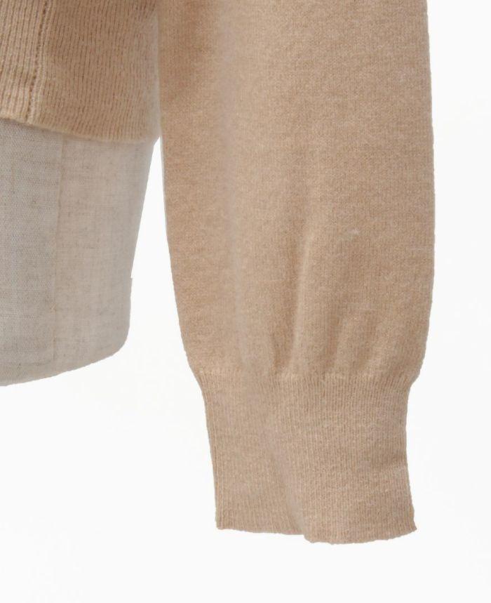 肩リボンニット 袖