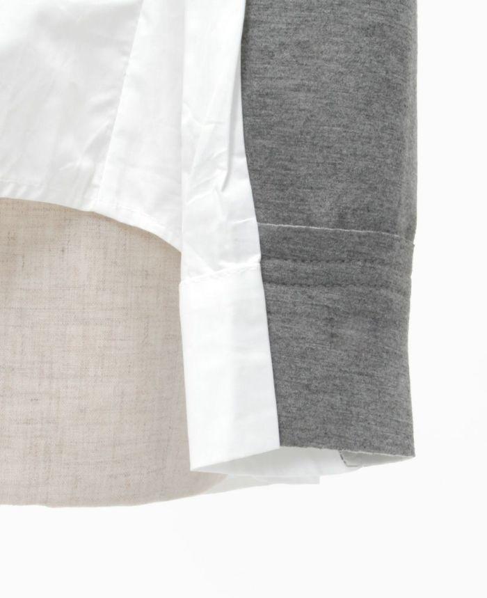 フリルデザイントップス 裾