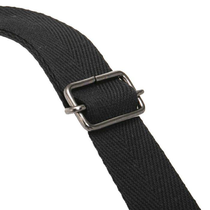 サイズ調整可能 お好みの丈でお使い可能バッククロスジャンパースカート