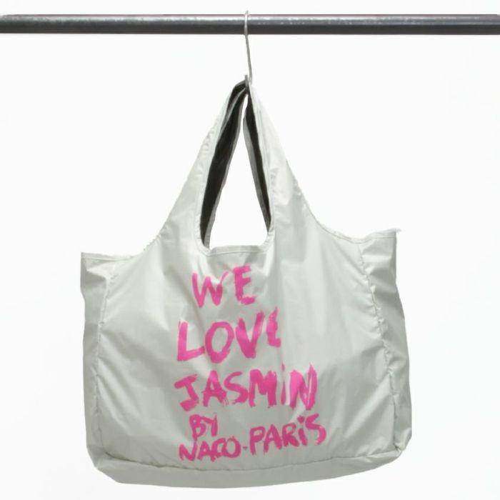 Jasmin Speaks ART(ジャスミンスピークス アート) コラボ エコバッグ