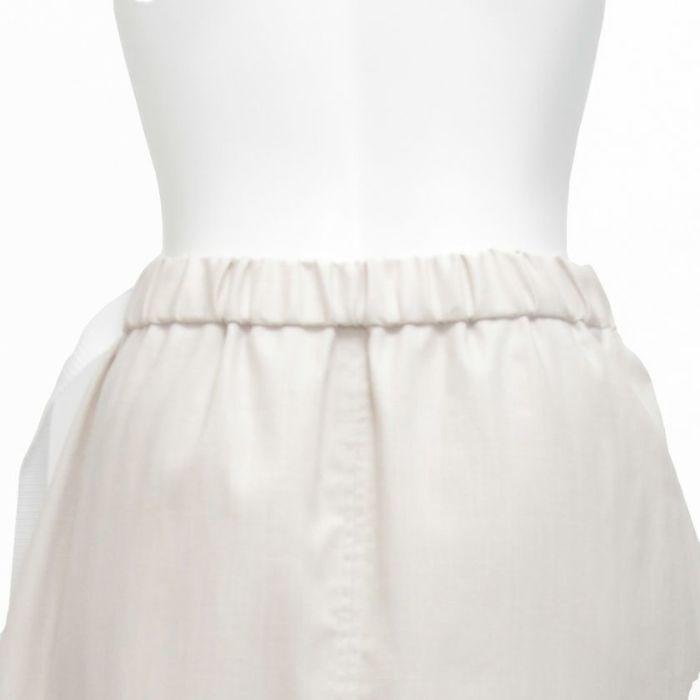 綿麻ラップスカート 後ろゴム