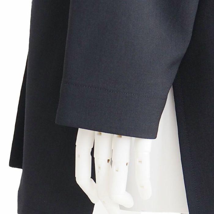 ウォッシャブルテーラードジャケット袖