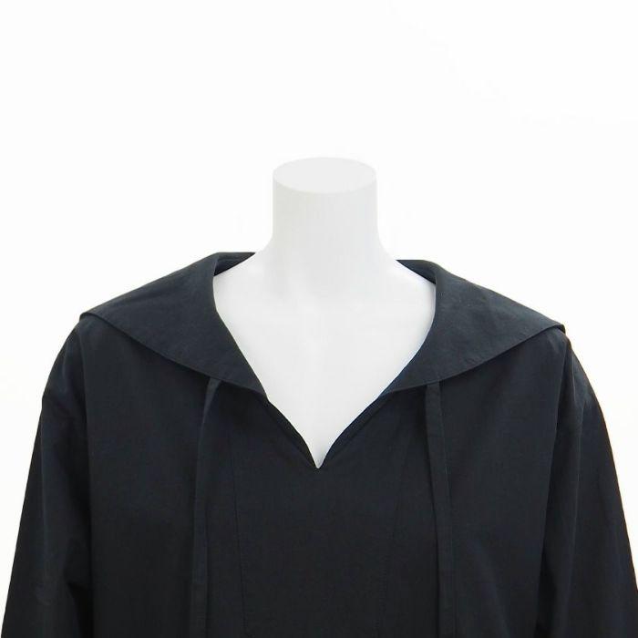 セーラーカラーシャツプルオーバー